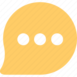 chat, discuss, information, message, review icon