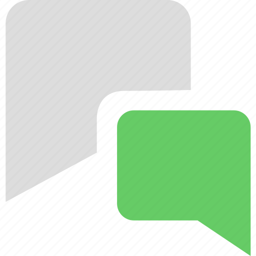 chat, discuss, information, message, rate, review icon