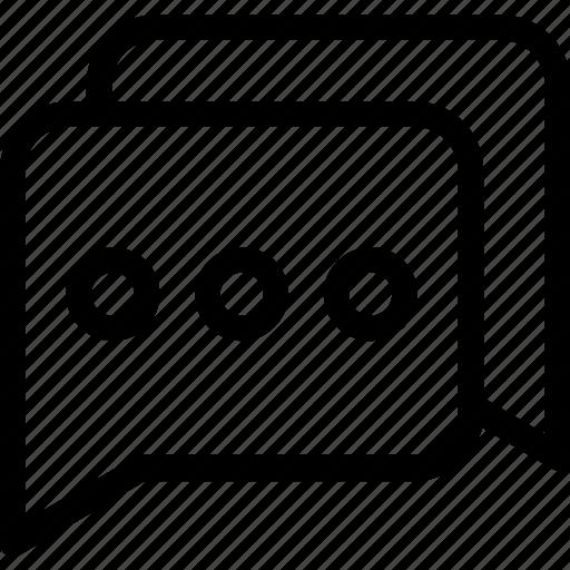chat, chat box, chat bubble, speech, speech bubble icon