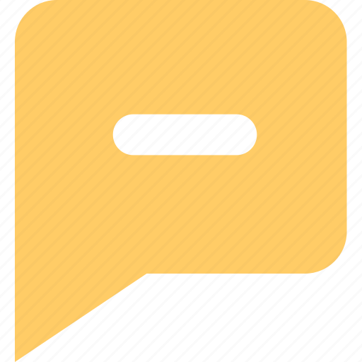 chats, discuss, informations, messages, negative, reviews icon