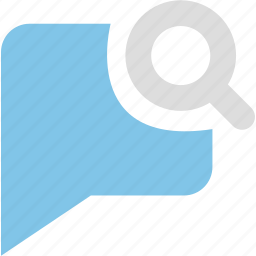 chats, discuss, find, informations, messages, reviews, search icon