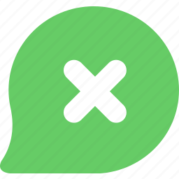 chats, discuss, informations, messages, nagetive, reviews icon