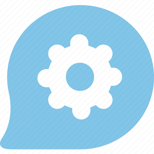 chats, discuss, informations, messages, reviews, setting icon
