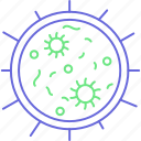 finding germs, germs, fertile, procreation, reproduction icon