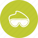 chemistry, experiment, glass, glasses, goggles, laboratory, science icon