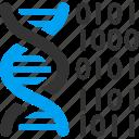binary code, dna structure, genetic biology, genetic engineering, genetics, genome chain, spiral molecule