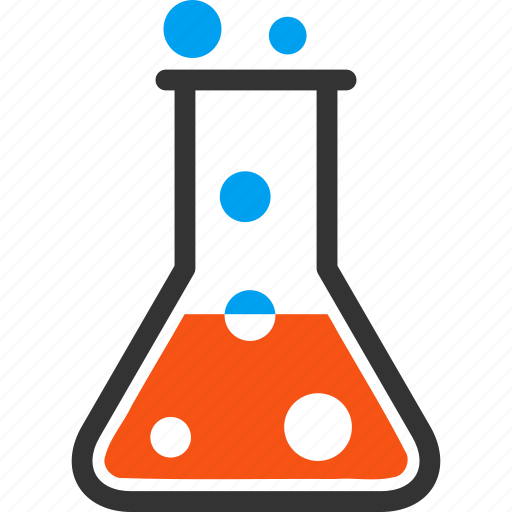 boil liquid, chemical glass, chemistry, flask, laboratory, retort, test tube icon