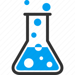 boiling water, chemical glass, chemistry, flask, laboratory, retort, test tube icon