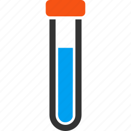 analysis, chemical analysis, covered test tube, experiment, laboratory, scientific, technology icon