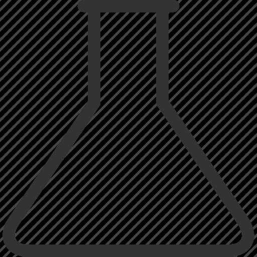 analytics, chemical, chemistry, empty wide retort, lab, laboratory, science icon