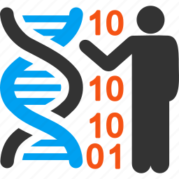 dna structure, genetic biology, genetic engineering, genetics, genome chain, lecture, science icon