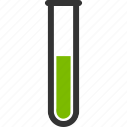 chemical analysis, chemistry, green liquid, laboratory, test tube, testtube, tubes icon