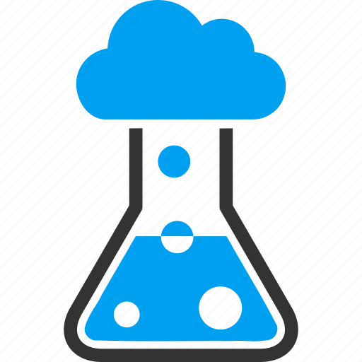 chemical container, chemistry, flask, fog, laboratory, retort, smog icon