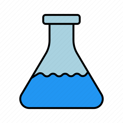 experiment, flask, laboratory icon