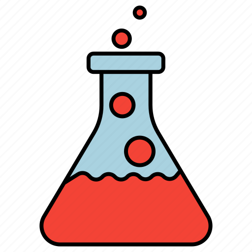 experiment, laboratory, reagents, science icon