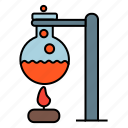chemical, experiment, flask icon
