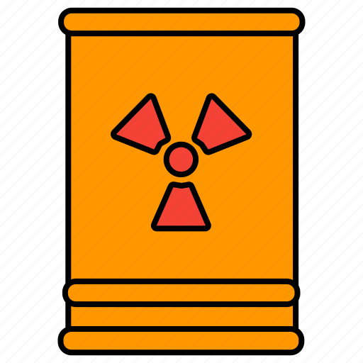 barrel, chemical, chemical wastes icon