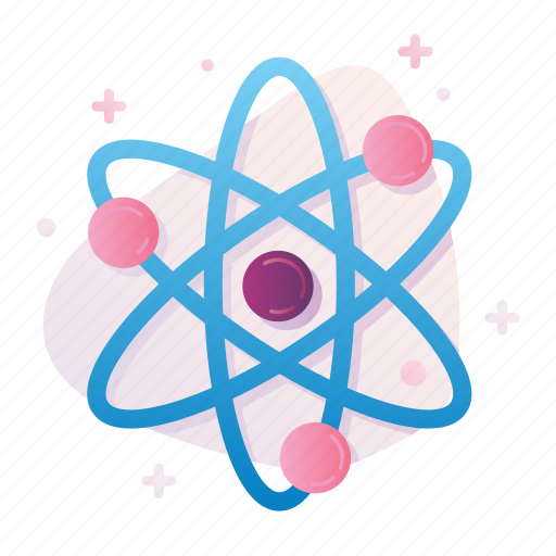 atom, chemistry, micro, molecule, physics, research, science icon