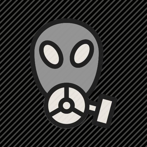 bag, breathing, equipment, gas, lab, mask, oxygen icon