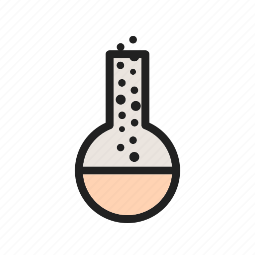 chemistry, experiment, glass, laboratory, liquid, test, tube icon