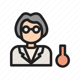 chemist, experiment, lab, laboratory, medical, scientist, test icon