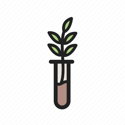 experiment, green, growth, nature, plant, seed, success icon
