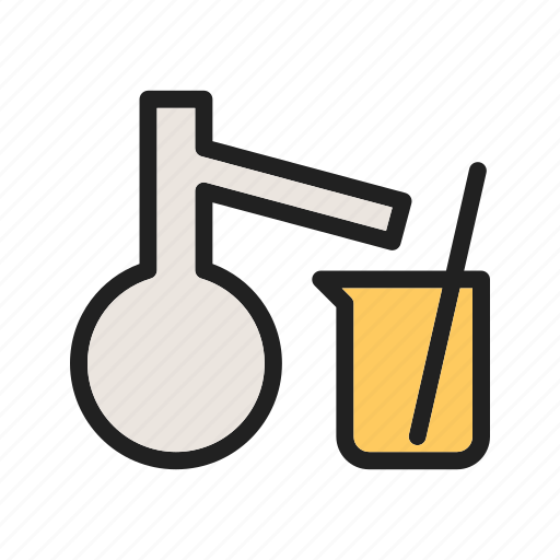 chemical, chemistry, laboratory, mixing, research, science, scientist icon