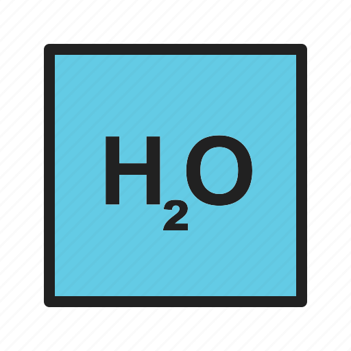chemical, experiment, formula, h2o, lab, molecule, water icon