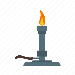 boiling, bunsen, burner, chemistry, laboratory, science, water icon