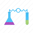 education, experiment, lab, laboratory, science, scientific, scientist icon