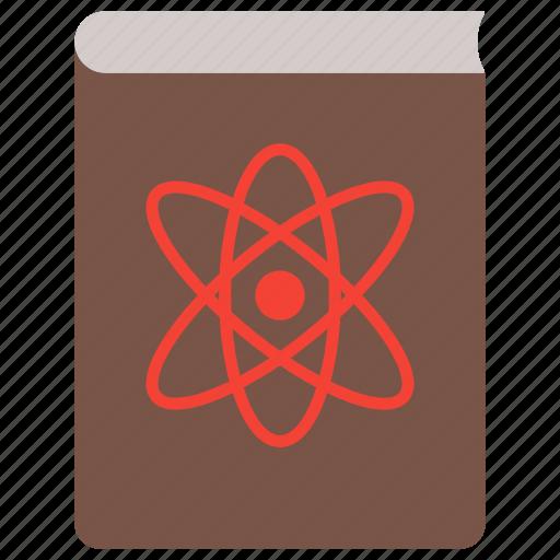 atom, book, chemistry, laboratory, molecule, research, science icon