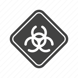 chemicals, dangerous, hazard, safety, sign, toxic, waste icon