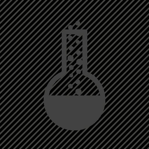 chemistry, experiment, glass, laboratory, liquid, test, tube icon