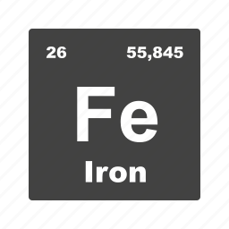 chemical, formula, iron, laboratory, molecule, science, scientific icon