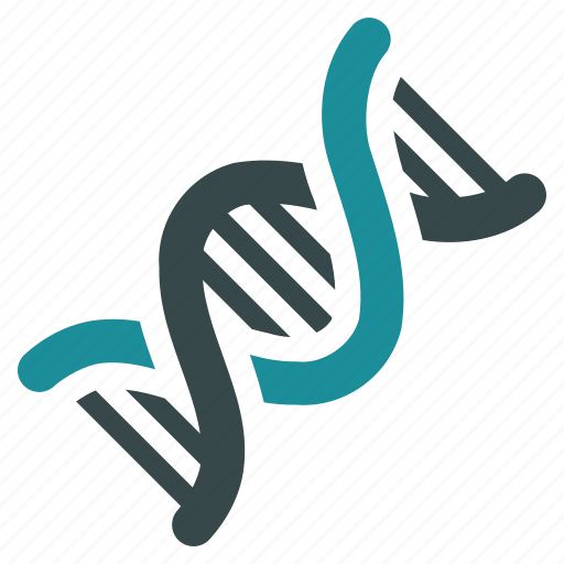 biotechnology, dna molecule, genetic research, genetics engineering, genome code, laboratory, virus icon