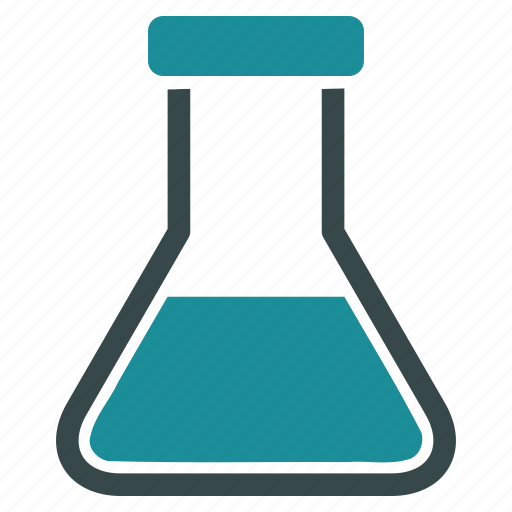 chemical, chemistry, container, flask, laboratory, liquid, retort icon