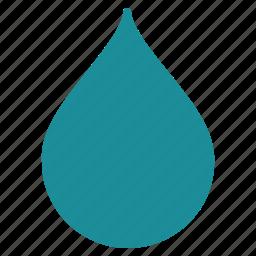 clean, clear, drop, fuel, liquid, oil, rain icon