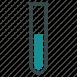 chemical analysis, chemistry, glass, lab, laboratory, test tube, testtube icon