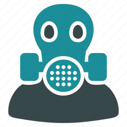 air filter, chemical, equipment, gas mask, health warning, respirator, work safety icon