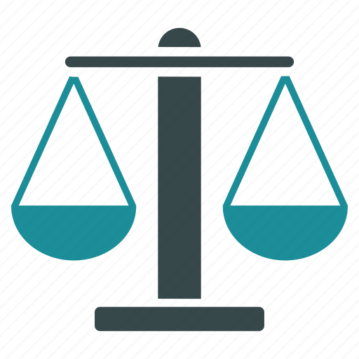 balance, justice, law, police, scale, scales, weight icon