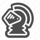 chess, game, helmet, pawn, piece, strategy icon