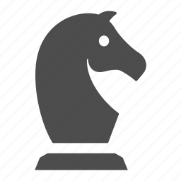 business, chess, finance, financial, horse, knight, strategy icon