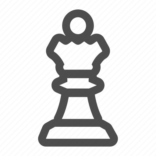 chess, crown, piece, queen, royal, strategy icon
