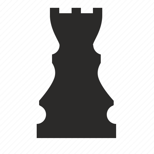 chess, figure, game, logic, role, rook, sport icon