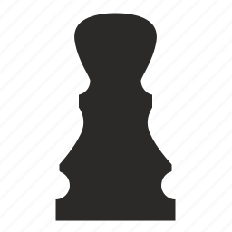 chess, figure, game, role, rook icon