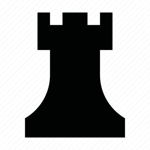 chess, game, material, piece, play, rook, strategy icon