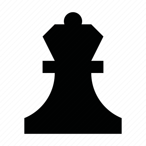 chess, game, gaming, material, piece, queen, strategy icon
