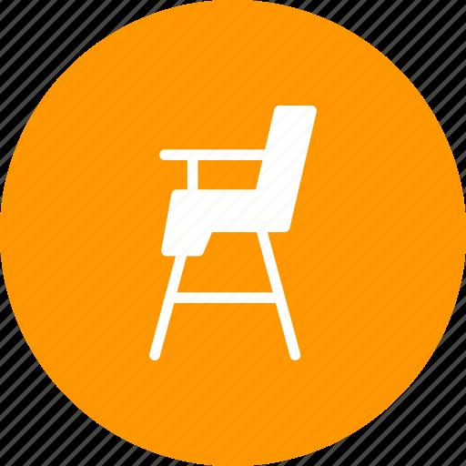 baby, chair, child, color, cute, montessori, sit icon