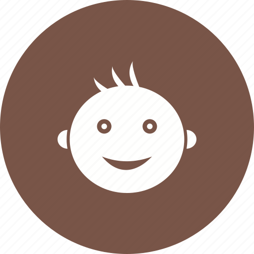 Baby, child, cute, face, happy, small, smile icon - Download on Iconfinder