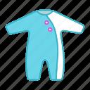 baby romper, bodysuit, clothing, infant, newborn, onesie, suit icon